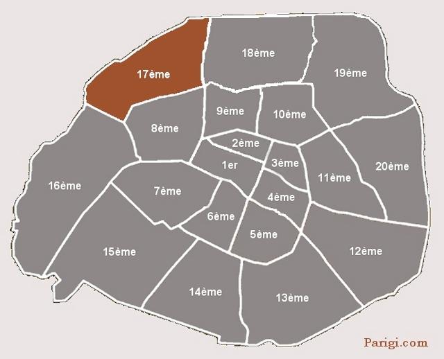 arrondissement 17 arc de triomphe ternes