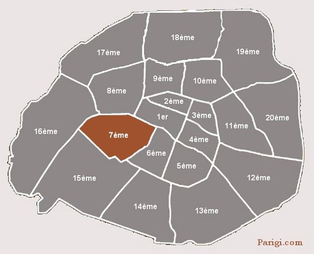 Cartina Di Parigi E Dintorni.Mappa Tour Eiffel Parigi Com